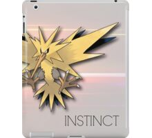 Pokemon GO: Team Instinct  iPad Case/Skin