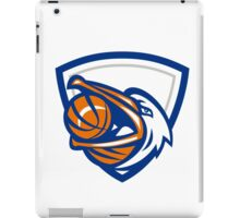 Pelican Basketball In Mouth Crest Retro iPad Case/Skin