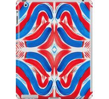 The Flag of Red, White, and Blue iPad Case/Skin