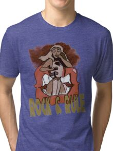 Rock and Rule Tri-blend T-Shirt