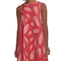 petals A-Line Dress