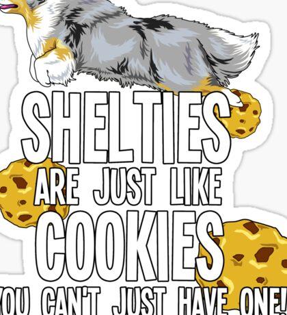 Sheltie-cookie Sticker