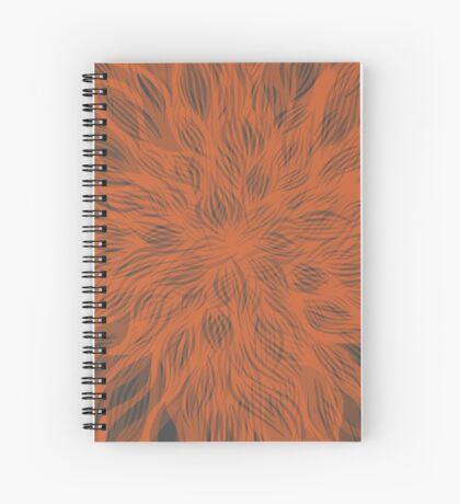 floral blur Spiral Notebook