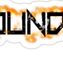 Foundry Title Sticker