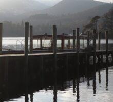 Boat jetty Sticker