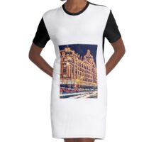 Harrods Graphic T-Shirt Dress