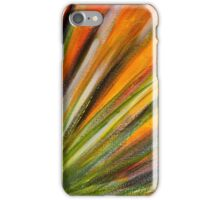 Desert Bloom in Orange iPhone Case/Skin