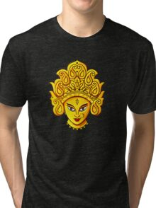 Hindu Goddess Durga The Mother Goddess Tri-blend T-Shirt