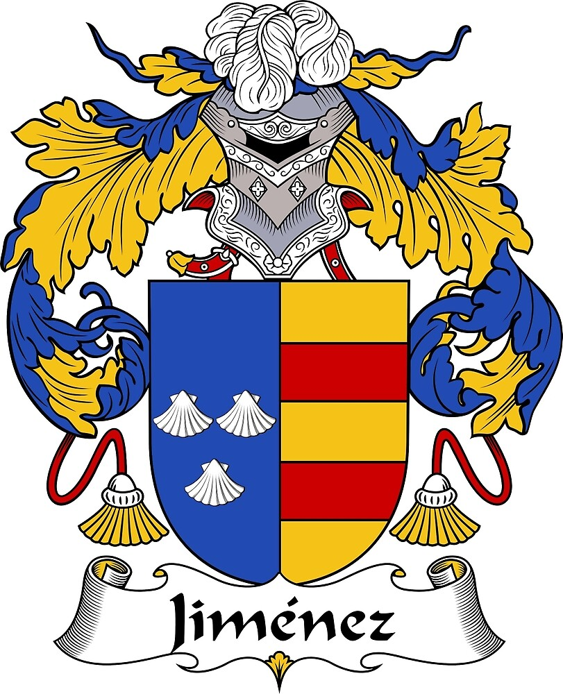 Jimenez Coat of Arms/Family Crest by William Martin