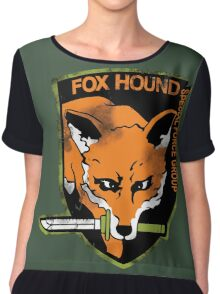 Foxhound Chiffon Top