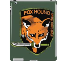 Foxhound iPad Case/Skin