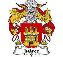 Juarez Coat of Arms/Family Crest Photographic Print