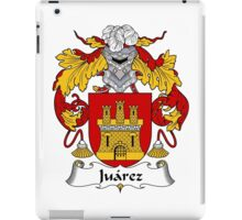 Juarez Coat of Arms/Family Crest iPad Case/Skin
