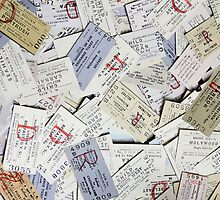 IMAGE OF NORTHERN IRELAND RAILWAY TICKETS 1960s-1970s by TICKETSPLEASE