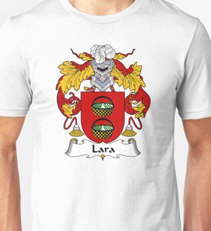 Lara Coat of Arms/Family Crest Unisex T-Shirt