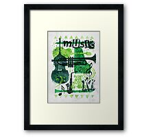 Music Jam Framed Print