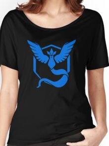 Pokemon Go - Team Mystic (Articuno Logo) Women's Relaxed Fit T-Shirt
