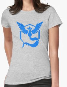 Pokemon Go - Team Mystic (Articuno Logo) Womens Fitted T-Shirt