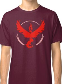 Pokemon Go - Team Valor (Moltres Logo) Classic T-Shirt