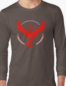 Pokemon Go - Team Valor (Moltres Logo) Long Sleeve T-Shirt