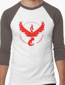 Pokemon Go - Team Valor (Moltres Logo) Men's Baseball ¾ T-Shirt