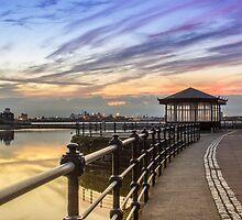 New Brighton Promenade by Paul Madden
