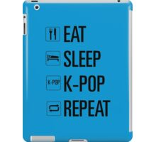 Eat Sleep K Pop Repeat iPad Case/Skin