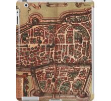 Augsburg Vintage map.Geography Germany ,city view,building,political,Lithography,historical fashion,geo design,Cartography,Country,Science,history,urban iPad Case/Skin