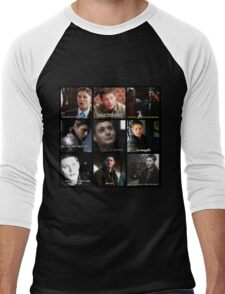 Dean Winchester Quote Collage #2 Men's Baseball ¾ T-Shirt