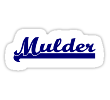 Mulder [Small] Sticker