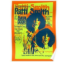 Patti Smith Concert 1976 Poster