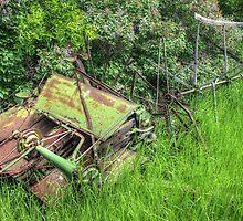 Antique Binder by Jim Sauchyn