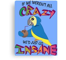 Jimmy Buffet Parrothead Canvas Print