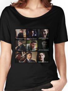 Dean Winchester Quotes Collage #3 Women's Relaxed Fit T-Shirt