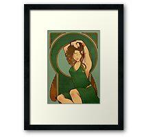 Elf Nouveau Framed Print