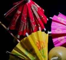 Olives and Umbrellas Sticker