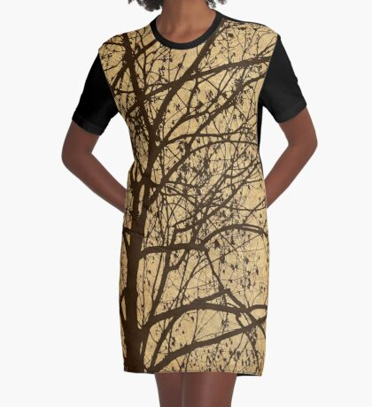 Ljubljana Weeping Graphic T-Shirt Dress