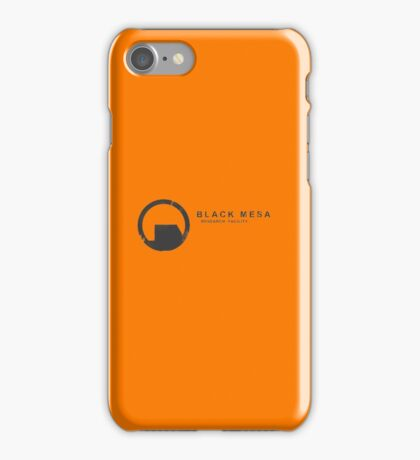 Black Mesa Research Facility iPhone Case/Skin