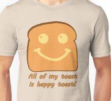 Happy Toast Unisex T-Shirt