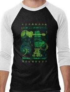 Music Jam Men's Baseball ¾ T-Shirt