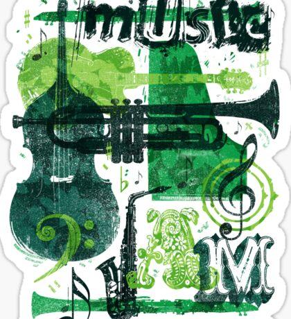 Music Jam Sticker