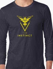 Pokemon GO: Team Instinct (Yellow) - Elite Long Sleeve T-Shirt