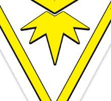 Pokemon GO: Team Instinct (Yellow) - Elite Sticker
