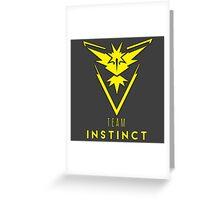 Pokemon GO: Team Instinct (Yellow) - Elite Greeting Card