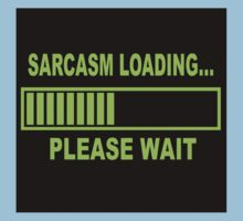 Sarcasm Loading Kids Tee