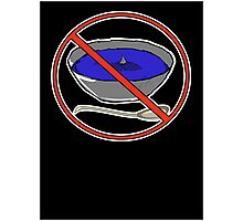 No Shark Fin Soup For You! Photographic Print