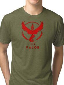 Pokemon GO: Team Valor (Red) - Elite Tri-blend T-Shirt