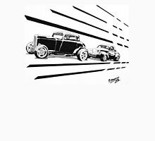 1932 Ford and 1941 Willys HotRods - Pen and Ink Classic T-Shirt