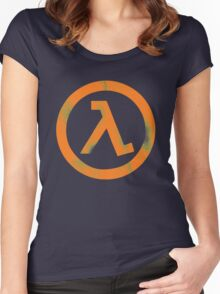 Half Life Women's Fitted Scoop T-Shirt