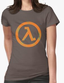 Half Life Womens Fitted T-Shirt